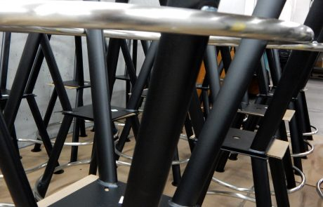 Casino Chair Bases Powder Coated