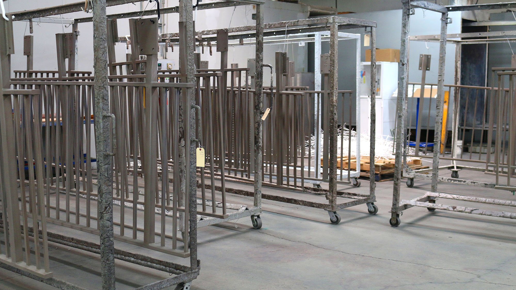 Batch Powder Coating System | Pacific Powder Coating