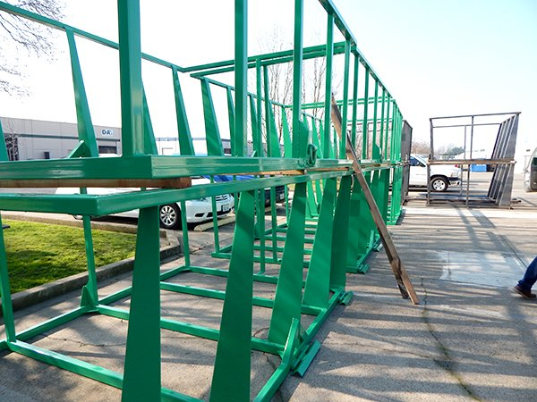 Tank Frame Powder Coated