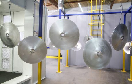 Conveyor Line Powder Coating